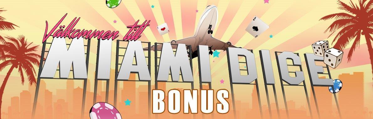 bild på hemsidan av miami dice casinosida 1