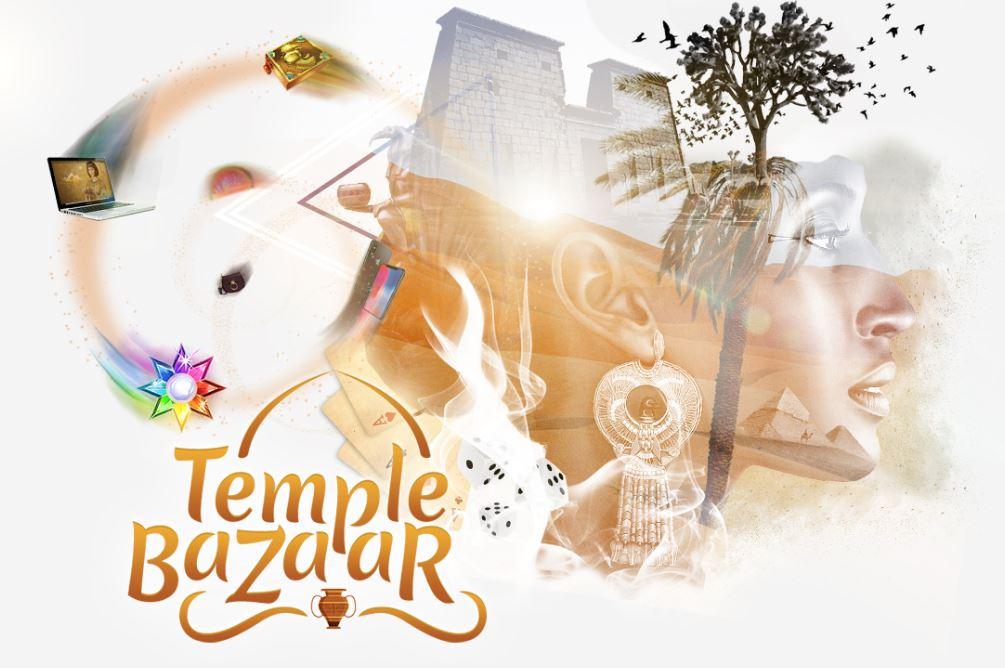 Temple Nile Basaari kauppa lahjat
