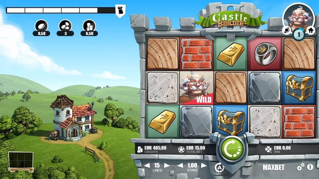 Онлайн-слот от RabCat Castle Builder 2
