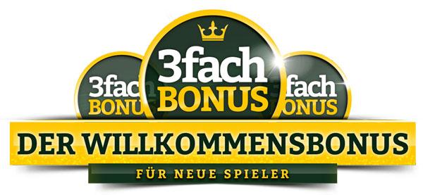 OnlineCasino-Deutschland-Willkommensbonus