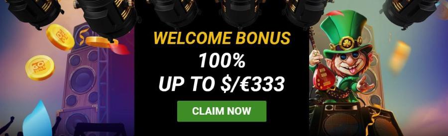 GoWild Casino welcome bonus