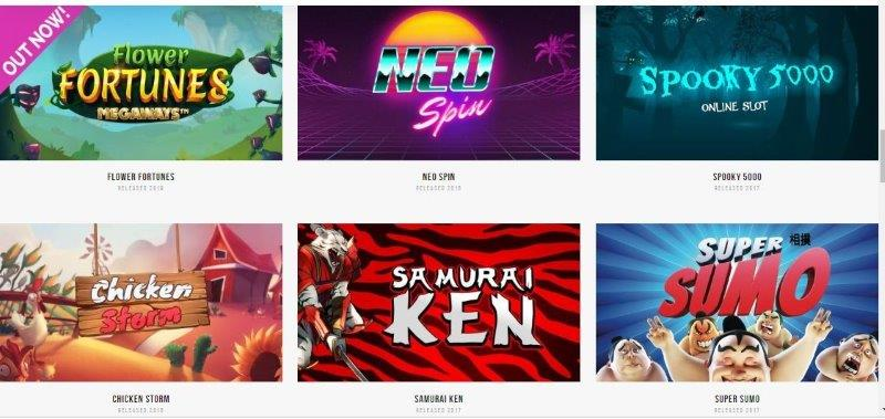 Fantasma games spelutvecklare på casino