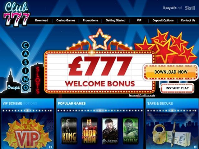 Visit Club 777 Casino