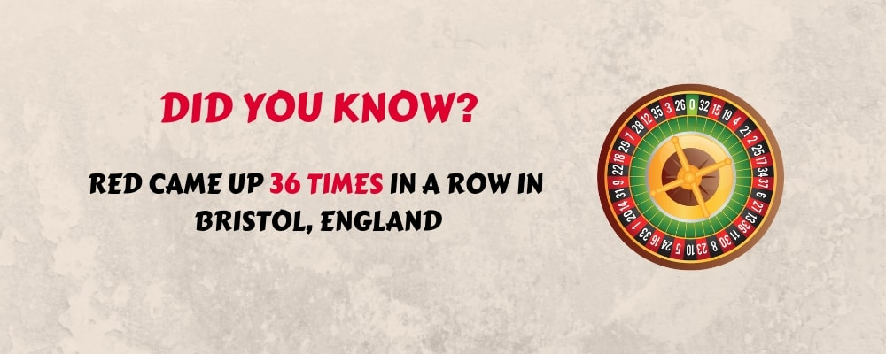 roulette fact 2