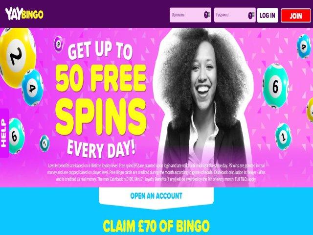 Visit YAY Bingo