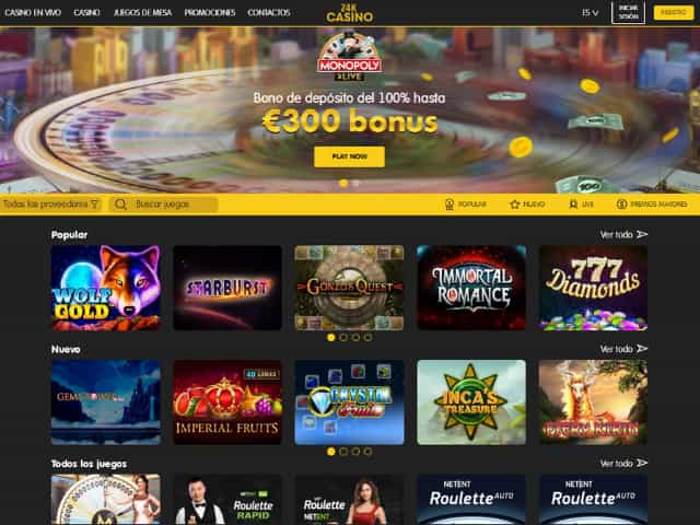 Visit 24K Casino