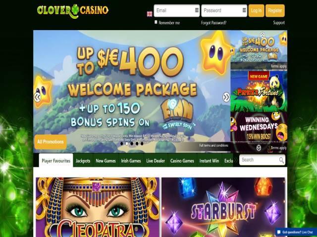 Visit Clover Casino