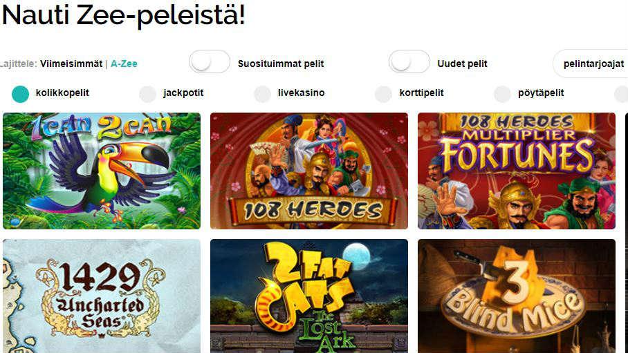 playzee casino pelit pelaa ilmaiseksi