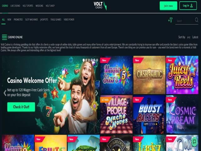 Visit Volt Casino