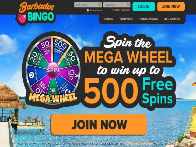 Visit Barbados Bingo