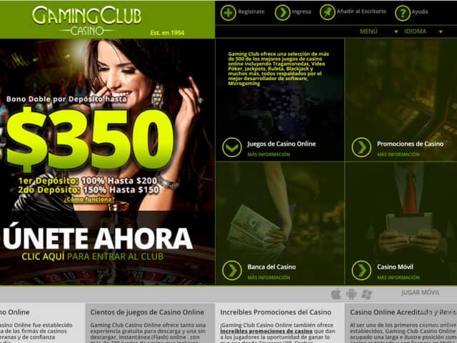 Visit GamingClub Casino