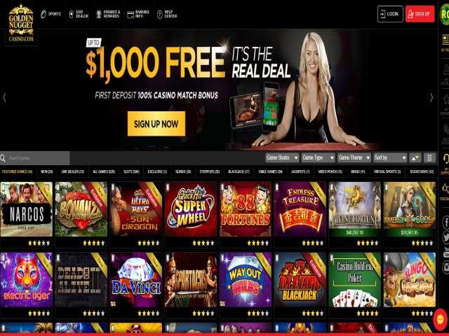 Visit Golden Nugget Casino