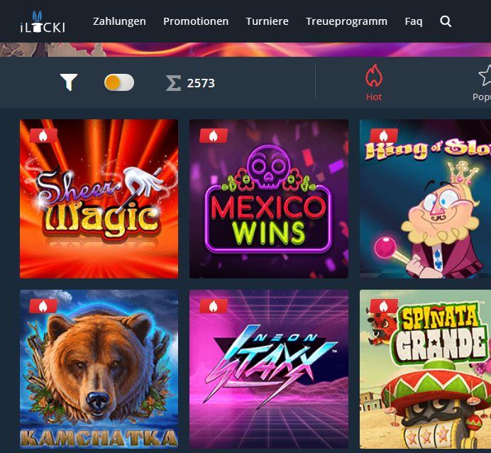 ILucki Casino Bewertung