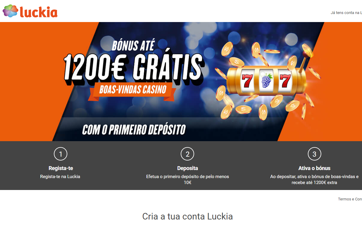 Visit Luckia Review