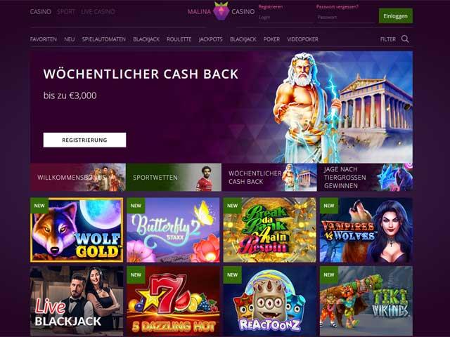 Visit Malina Casino