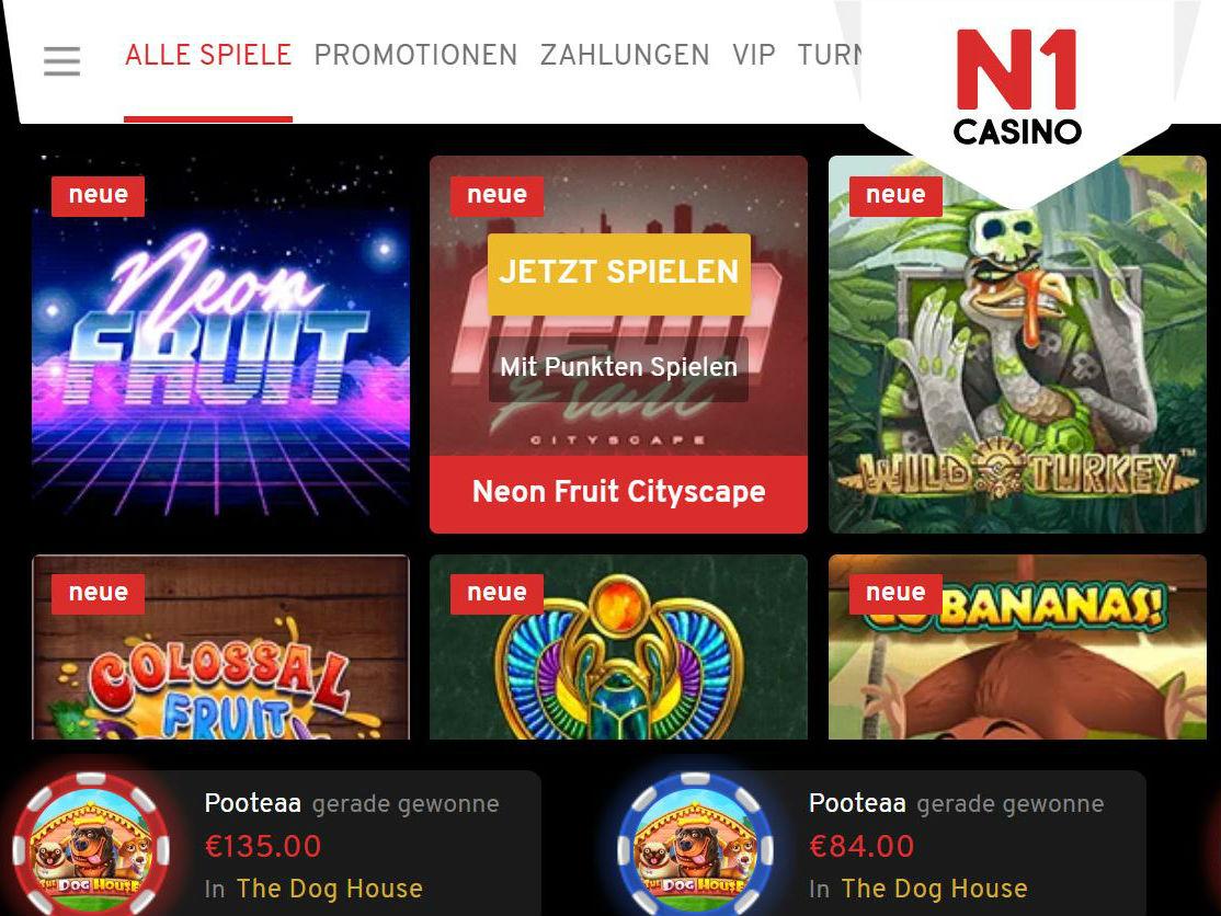 Visit N1 Casino