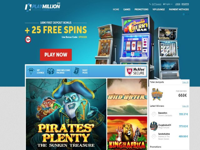 Visit PlayMillion Casino