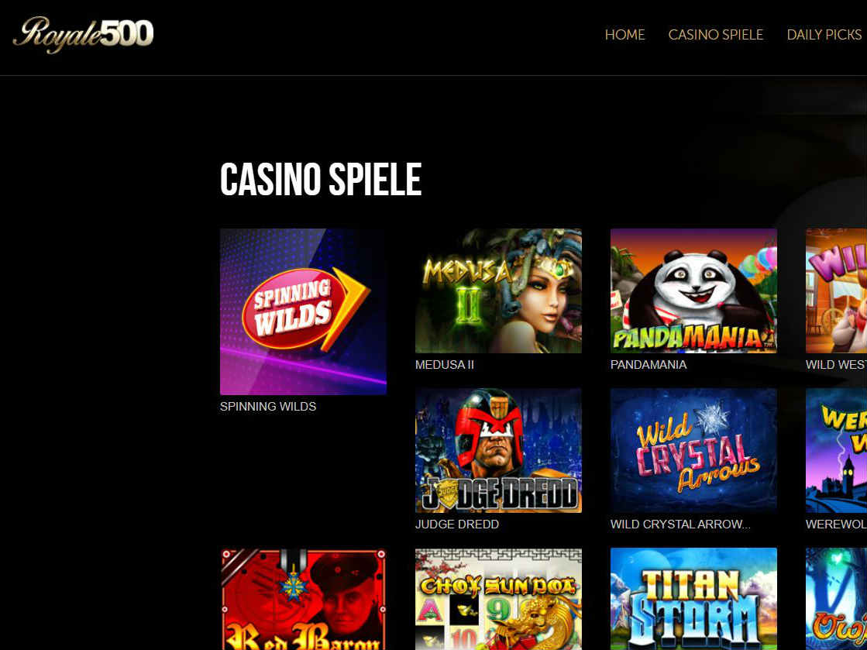 Visit Royale500 Casino