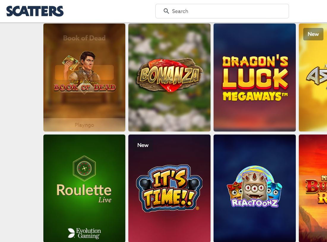 Visit Scatters Casino