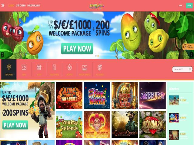 Visit Slotanza Casino