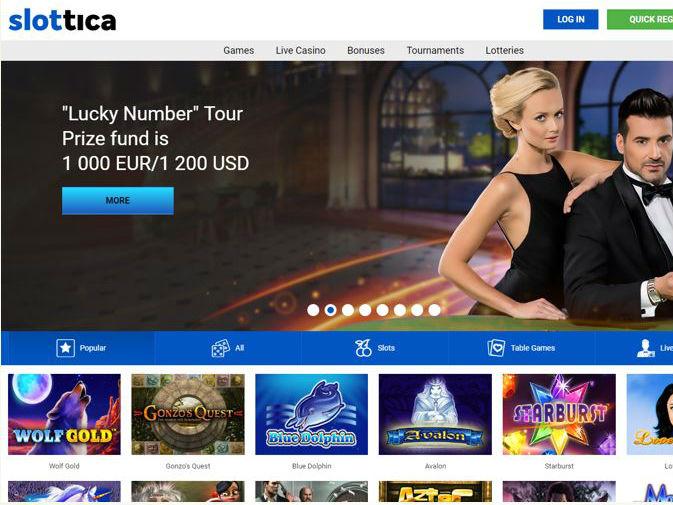 Visit Slottica Casino