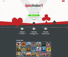 Visit Spin Station X Casino