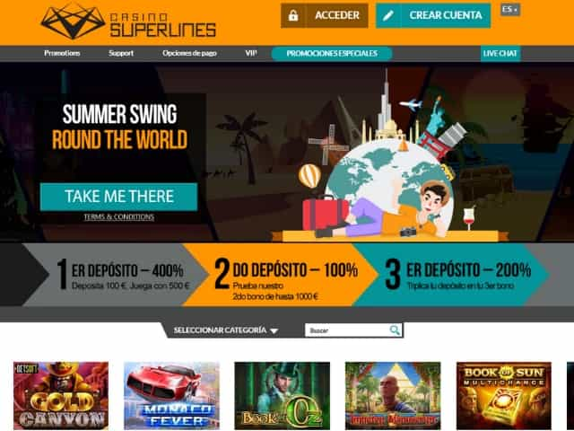 Visit Casino Superlines