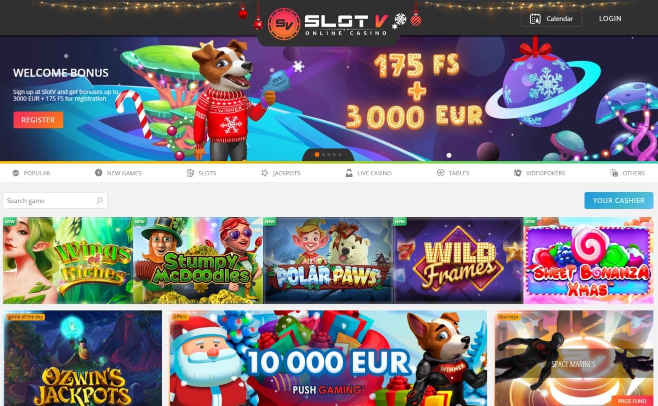 Visit SlotV 在线娱乐场