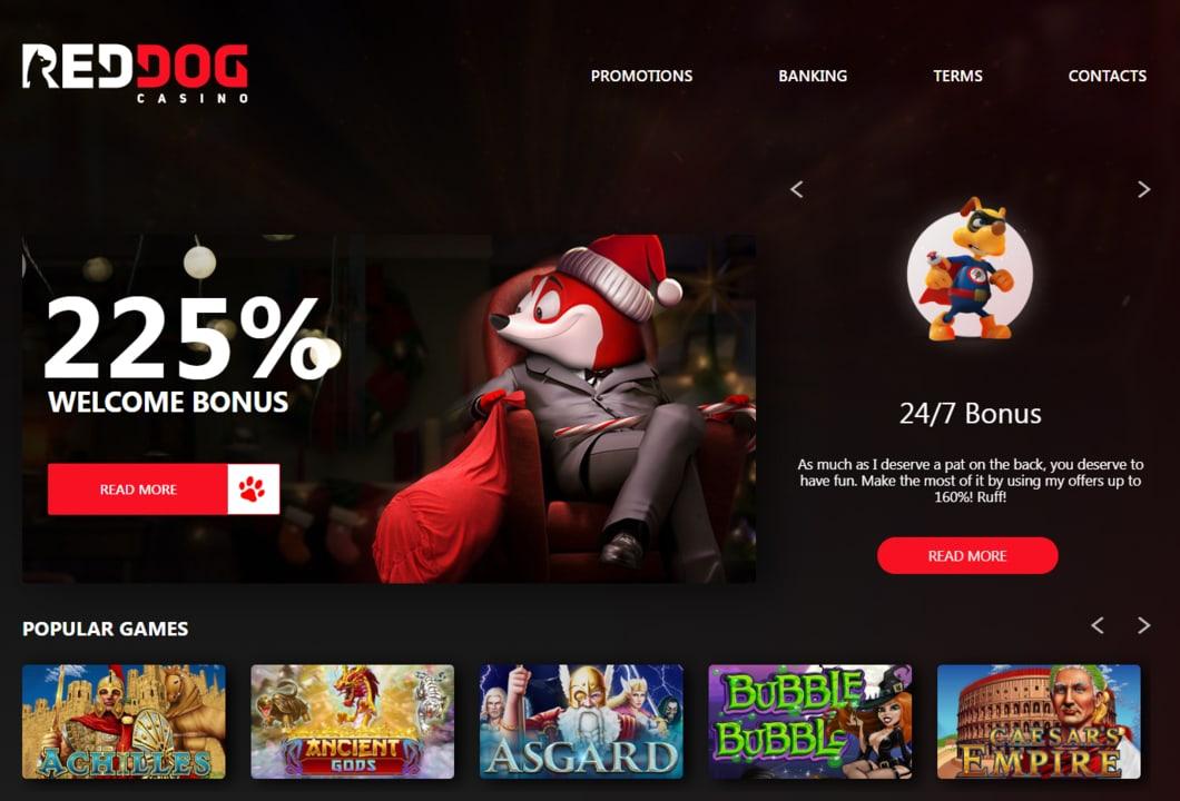 Visit Red Dog 在线娱乐场