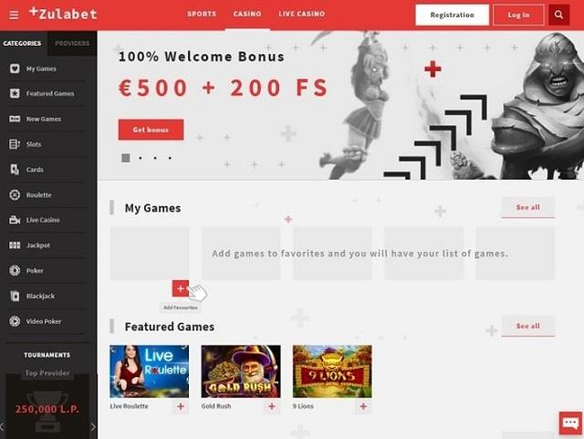 Visit ZulaBet Casino